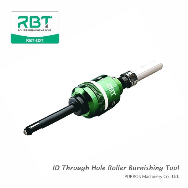 Diâmetro interior Diâmetro Through Hole Roller Burnishing Tool, ID Through Hole Roller Burnishing Tool RBT-IDT Fornecedor
