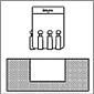 RBT rolo polimento ferramentas ID Tool Blind Hole