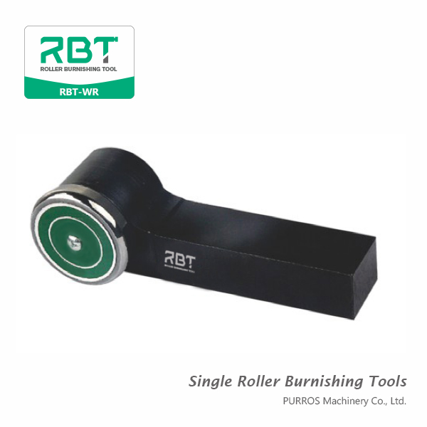 RBT R-type Single Roller Burnishing Tool, Outside Surface Single Roller Burnishing Tool